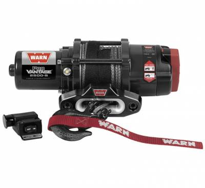 WARN - WARN 2500 PROVANTAGE WITH SYNTHETIC ROPE
