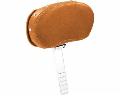 Indian - Indian Motorcycle Genuine Leather Driver Backrest-Tan