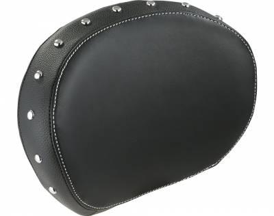 Indian - Indian Motorcycle Genuine Leather passenger Backrest Pad - Black