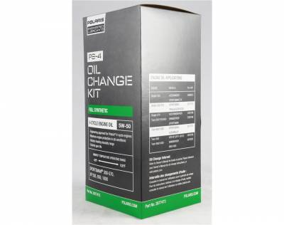 Polaris - Polaris Engineered Oil Change Kit