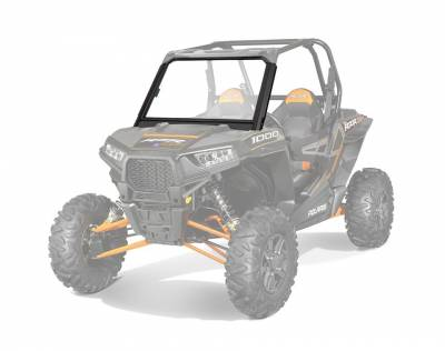 Polaris - Polaris Lock & Ride Glass Windshield