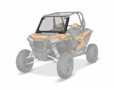 Polaris - Polaris Three-Position Poly Windshield