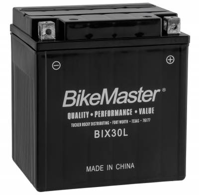 Electrical - Batteries/Miscellaneous - Bikemaster - BIX30L-BS BIKEMSTR BATTERY