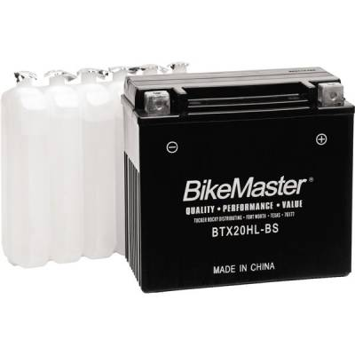 Electrical - Batteries/Miscellaneous - Bikemaster - BTX14AH-BS BIKEMSTR BATTERY