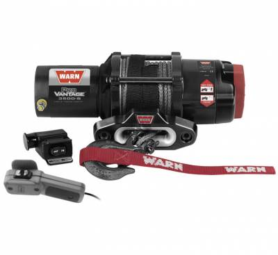 UTV - Plow/Winch - WARN - WARN 3500 PROVANTAGE WITH SYNTHETIC ROPE