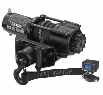 UTV - Plow/Winch - KFI - KFI 2500 STEALTH WINCH