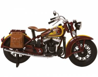 Motorcycle - Lifestyle - Indian - Sport Scout 1:12 Scale