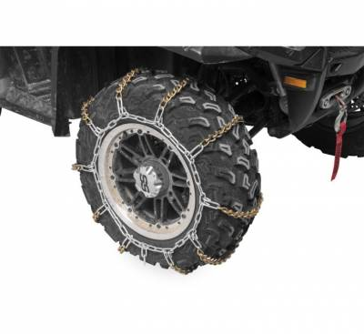 ATV - Tires/Wheels - TR - QuadBoss V-Bar Tire Chain - Large
