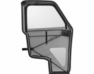 Polaris - Polaris Lock & Ride Pro Fit Canvas Doors With Poly Windows - Image 2