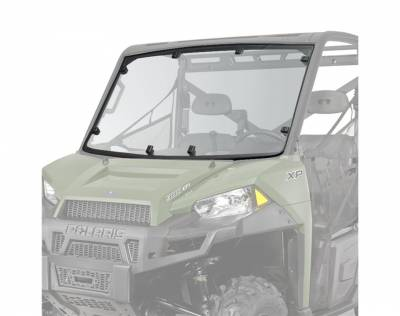 Polaris - Polaris Lock & Ride Pro Fit Hard Coat Poly Windshield