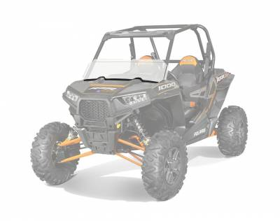 Polaris - Polaris Lock & Ride Half Windshield