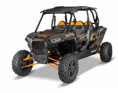 Polaris - Polaris Lock & Ride Pro Fit Poly Sport Roof - Black - Image 2