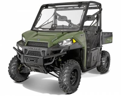 Polaris - Polaris Lock & Ride Pro Fit Tip-Out Poly Windshield - Image 2