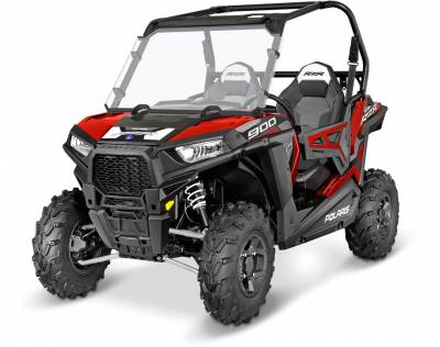 Polaris - Polaris Lock & Ride Full Poly Windshield - Image 2