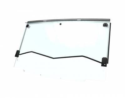 Cab Components - Windshields - Polaris - Polaris Lock & Ride Pro Fit Hard Coat Poly Flip Down Windshield
