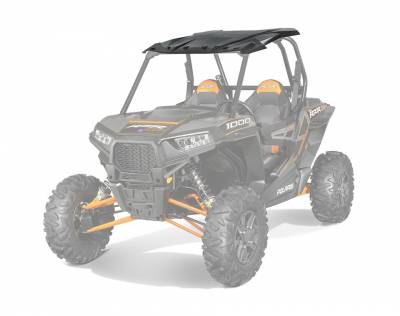 Polaris - Polaris Lock & Ride Poly Sport Roof - Black