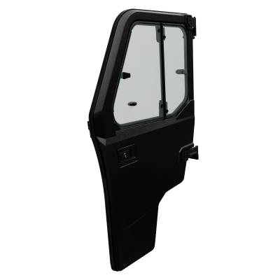 Cab Components - Doors - Polaris - Polaris Lock & Ride Pro Fit Poly Hinged Window Door