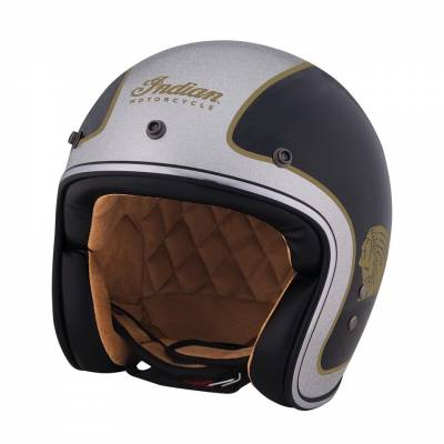 Motorcycle - Helmets - Indian - Two Tone Open Face Helmet