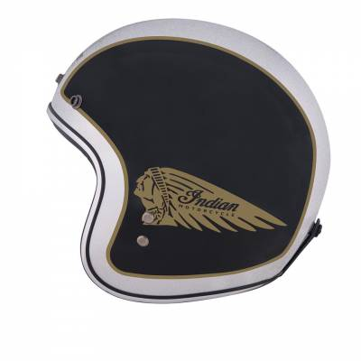 Indian - Two Tone Open Face Helmet - Image 3