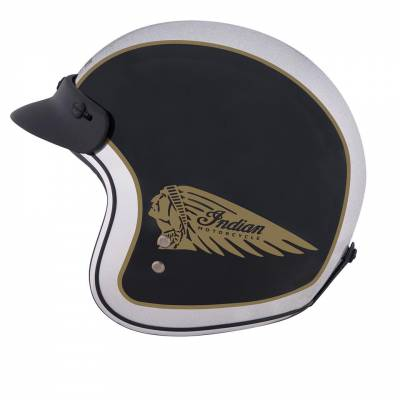 Indian - Two Tone Open Face Helmet - Image 7