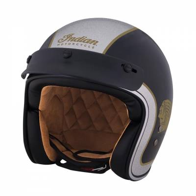 Indian - Two Tone Open Face Helmet - Image 9