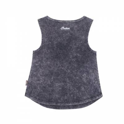 Indian - Gray Snow Wash Tank - Image 2
