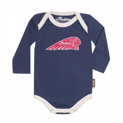 Indian - Junior Long Sleeve Bodysuit 3 Pack - Image 3