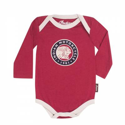 Indian - Junior Long Sleeve Bodysuit 3 Pack - Image 5