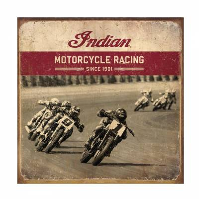 Apparel - Motorcycle - Indian - Racer Sign