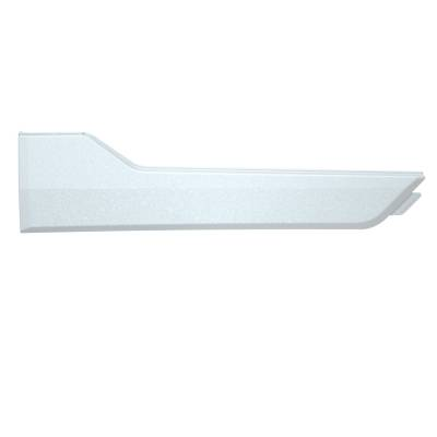 ATV - Exterior Front Door Accent Panel - Pearl White