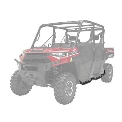 UTV - Polaris - Rock Guard with Step - Crew
